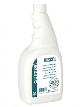DESCOL DESINFECTANTE HIDROALCOHÓLICO - SUPERFICIES Y ÚTILES - 750 ML.