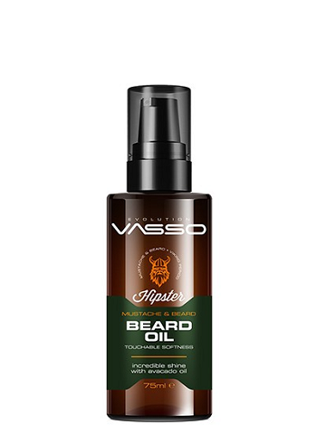 VASSO BEARD OIL MUSTACHE&BEARD 75ML