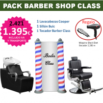 PACK MOBILIARIO BARBER SHOP CLASS