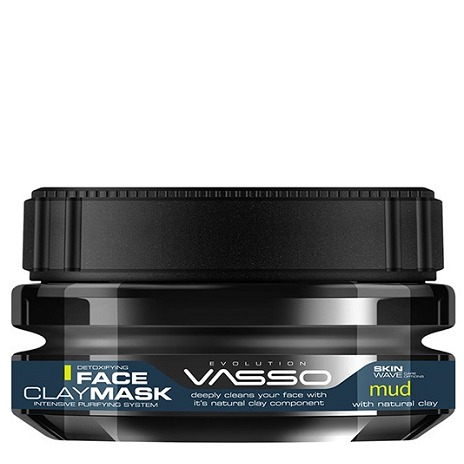 VASSO FACE CLAY MASK MUD 250ML