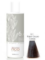 TINTE NATURAL COLOUR ORGANIC 6.1 RUBIO OSCURO CENIZA