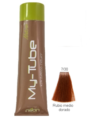 TINTE MY TUBE 150ML 7/30 RUBIO MEDIO DORADO
