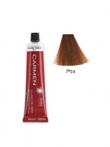 TINTE CARMEN ULTIME 60ML 7*04 RUBIO MEDIO NATURAL COBRIZO