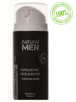 CREMA EXFOLIANTE FACIAL NATURAL MEN KEIKEN UMI 100ML
