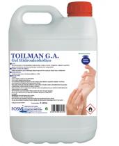 GEL HIDROALCOHÓLICO TOILMAN - 5 LITROS