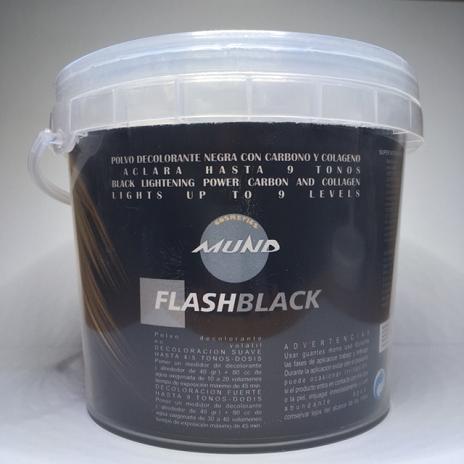 PACK 3 UD. DECOLORACIÓN MUND FLASH BLACK 500 GR