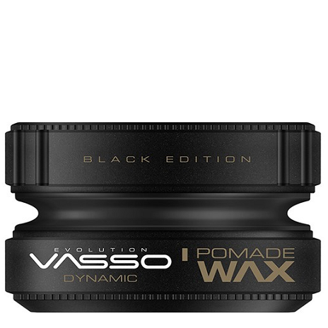 VASSO POMADE WAX BLACK EDITION DYNAMIC CERA CAPILAR 150ML