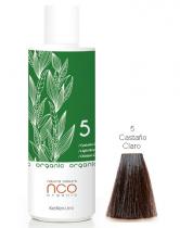 TINTE NATURAL COLOUR ORGANIC 5 CASTAÑO CLARO