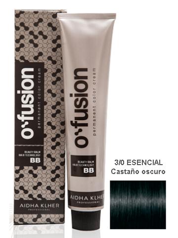 TINTE O`FUSION 100ML 3/0 CASTAÑO OSCURO ESENCIAL
