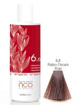 TINTE NATURAL COLOUR ORGANIC 6.6 RUBIO OSCURO ROJO