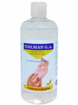 GEL HIDROALCOHÓLICO TOILMAN 500 ML.
