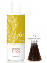 TINTE NATURAL COLOUR ORGANIC 6.3 RUBIO OSCURO DORADO