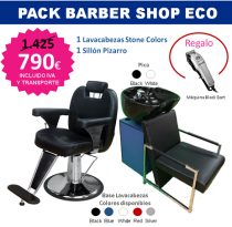 PACK MOBILIARIO BARBER SHOP ECO