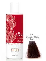 TINTE NATURAL COLOUR ORGANIC 5.6 CASTAÑO CLARO ROJO