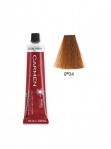 TINTE CARMEN ULTIME 60ML 8*04 RUBIO CLARO NATURAL COBRIZO