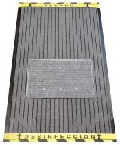 ALFOMBRA DESINFECTANTE DE CALZADO GRIS/GRIS 90 X 150 CM.